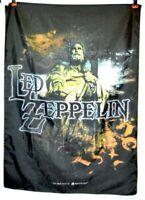 """RARE 2001 Led Zeppelin Tapestry Linen Banner Myth Gem Poster Italy Made 41""""X30"""""""