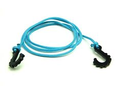 "Gear Head RC 1/10 scale 24"" Tow Rope with Hooks, Light Blue GEA1184"