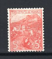 "MONACO STAMP TIMBRE YVERT 33 "" ORPHELINS DE GUERRE 5F+5F 1919"" NEUF xx LUXE T388"