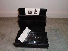 G.U.S Great Useful Stuff Leather Multi Charging Station 4 USB Ports  New In Box