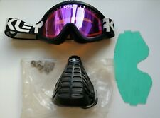 Oakley goggles & NOS JT Racing mouth trap vintage motocross old school BMX