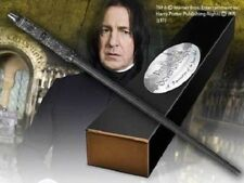 HARRY POTTER PROFESSOR SNAPE ALAN RICKMAN PROP REPLICA WAND + BONUS NAME CLIP
