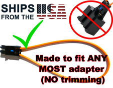 UNIVERSAL PRE-TRIMMED MOST Fiber Optic Loop Bypass Female Adapter BMW SOS FIX