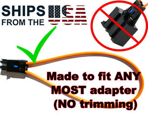 UNIVERSAL Female MOST Fiber Optic Loop Bypass Adapter BMW SOS FIX W/ SUPPORT!