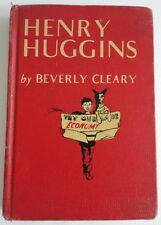 Henry Huggins Beverly Cleary HC 1950 RARE First Library Edition Red Cloth No DJ