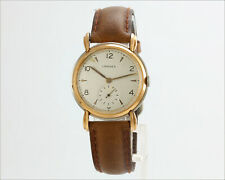 Rare Vintage 1940's LONGINES 23m 14k Rose Gold & Stainless Steel Watch 23550