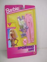 "1992 Barbie ""SPORTING LIFE"" Fashions - WORKOUT #862 Mattel"