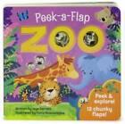 Zoo: Peek-a-Flap Board Book - Board book By Jaye Garnett - GOOD