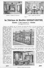NEVERS MEUBLES CHARLET GAUTIER CHAUSSURES BOUGRIAUT DECIZE TOURS CUIRS LEFEVRE