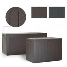 Kissenbox Gartenbox Auflagenbox Box Gartentruhe Boardebox Anthrazit Umbra