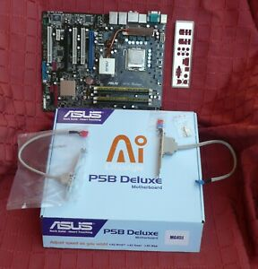DEFEKT Mainboard ASUS P5B Deluxe + CPU Intel Q6600 + RAM 8GB