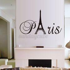 Removable France Paris Eiffel Tower Wall Sticker Art Decal Mural Home  USA☆