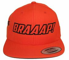 BRAAAP! JUST RIDE FLAT BILL SNAPBACK HAT MOTO MOTOCROSS DIRT BIKE MOTORCYCLE 3
