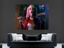 Margot Robbie cartel suicidio escuadrón pelicula peli Harley Pared Arte Impresión