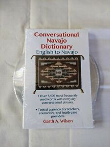 Conversational Navajo Dictionary Textbook With CD Unopened
