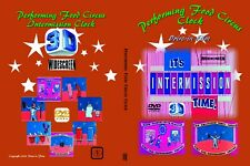Performing Food Circus INTERMISSION Widescreen 3-D DVD Drive-in movie film 35mm