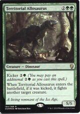 Mtg Foil Territorial Allosaurus Dom Nm