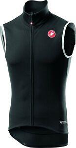 Castelli Perfetto RoS Men's Cycling Vest Light Black : Large