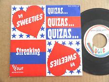 """DISQUE 45T DE THE SWEETIES  """" QUIZAS QUIZAS QUIZAS """""""