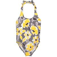 NWT Gymboree Fairytale Forest Girls Floral Yellow Swimsuit 5-6 14 S XL