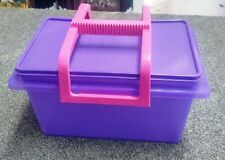 TUPPERWARE KEEP N CARRY CONTAINER WITH REMOVABLE HANDLE BRAND NEW STORAGE BOX