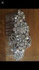 Wedding bridal hair accessory, headdress headband... Swarovski crystals, new