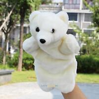 Cute Polar Bear Hand Puppets Child Kids Educational TOY Preschool Kindergarten