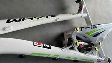 Whyte T-120 Medium Full Suspension Mountain Bike Frame: Magnesium, Carbon.