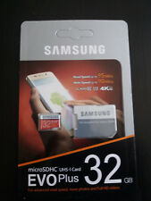 Genuine Samsung 32GB EVO Plus Micro SD SDHC UHS-I  Class 10 Memory Card 95MB/S