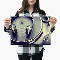POSTER PRINT PHOTO COMPOSITION DIGITAL DECK TURNTABLE DJ VINYL MUSIC COOL SEB200