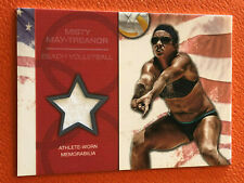 2012 Topps USA Olympic Team MISTY MAY-TREANOR Athlete Worn Relic Volleyball