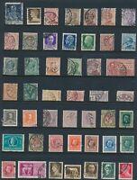 Lot Stamp Italy Revenue Classics 1863 Collection Marca de Bollo Import U 4 F