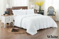 8 PCs Bed In a Bag (Comforter+Sheet Set+Duvet Set) White Striped US Queen
