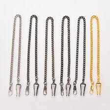 36.5cm Bronze Alloy Chain FOR Antique Quartz Women Men Vintage Pocket Watch 7N