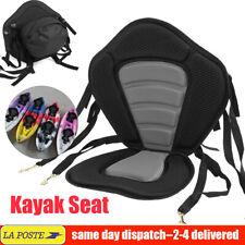 Kayak Siège Rembourré de Coussin Réglable avec Dossier Base Antidérapante