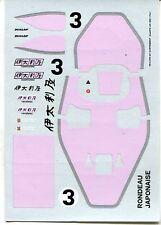 RONDEAU M382 N°3 JAPONAISE 6H MONTE FUJI 1982 CARTOGRAF DECALS 1/43