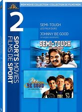 NEW DOUBLE FEATURE  DVD -  SEMI TOUGH  + JOHNNY BE GOOD - BURT REYNOLDS