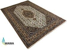 Orientteppich Bidjar  170X240 CM Handgeknüpft Beige Braun Teppich~ 100% Wolle