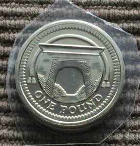 2006 Egyptian Arch BUNC £1 pound coin Royal Mint BU
