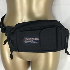 Fanny Pack Black Waist Bag Wallet Purse Adjustable EastSport Outdoors Hiking