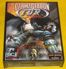 CARMAGEDDON TDR 2000 Pc Versione Ufficiale Italiana 1ª Ed Big Box »»»»» COMPLETO