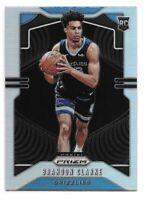 Brandon Clarke Rookie Card 2019-20 Prizm SILVER Prizm #266 Memphis Grizzlies RC