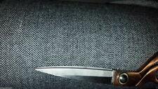 3 mts  ITALIAN grey herringbone tweed FABRIC 150 cm wide