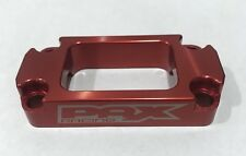Pax Racing Cobra 50 / 65 RED Billet Handle Bar Clamp 50cc FWE SR King CX50 CX65
