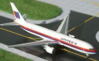 Gemini Jets GJUAL448 United Airlines B767-3 Saul Bass N647UA 1/400 Diecast Model