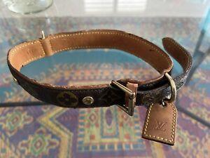 Vintage Louis Vuitton Original Dog Collar