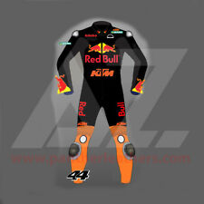 KTM RedBull Custom Fit Customized Motorbike Leather Suit CE Approved Racing Suit