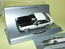 OPEL MANTA GT/E 1975-1988 Blanc & Noir SCHUCO1:43