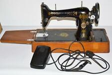 c1910's Singer 66K Electric Sewing Machine Lotus Decal - FREE P&P [PL2061]
