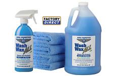 Waterless Car Wash Wax Kit 144 oz. Aircraft Quality Wash Wax.